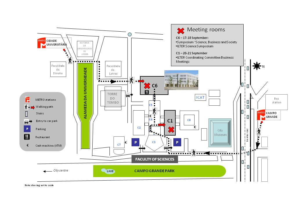 Subway Map Of Lisbon.How To Get There Faculdade De Ciencias Da Universidade De Lisboa