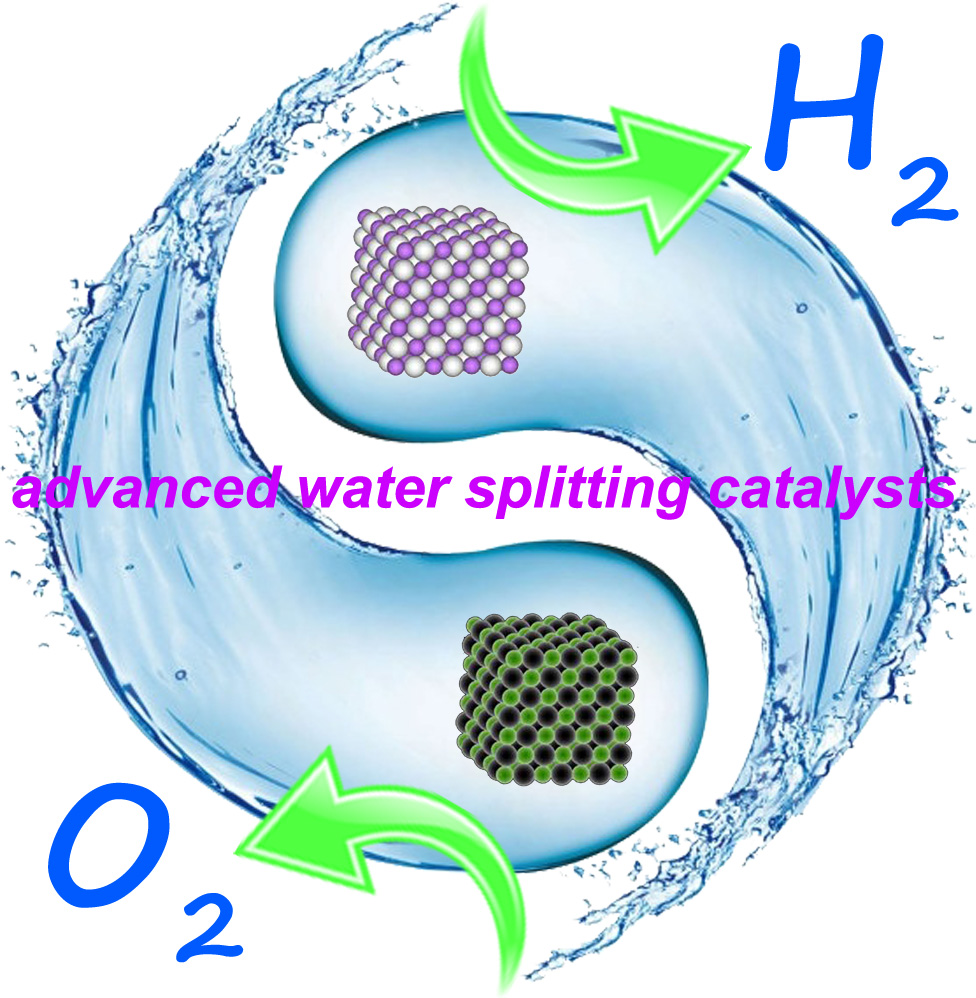Advanced water splitting catalysts