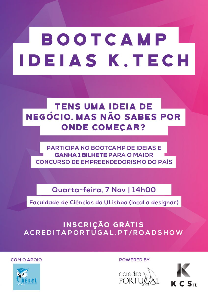 Roadshow Acredita Portugal