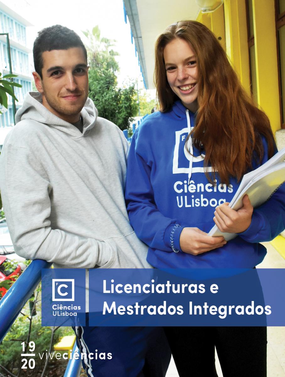 Capa de folheto de Licenciaturas e Mestrados Integrados