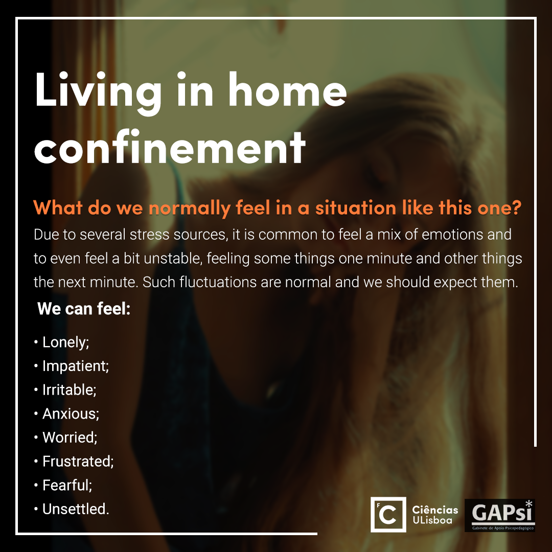 Living in home confinement - Slide 3