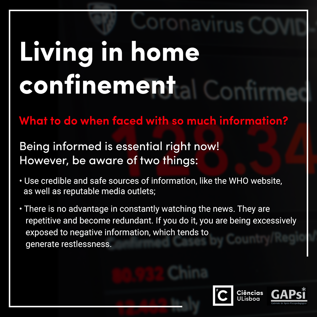 Living in home confinement - Slide 9