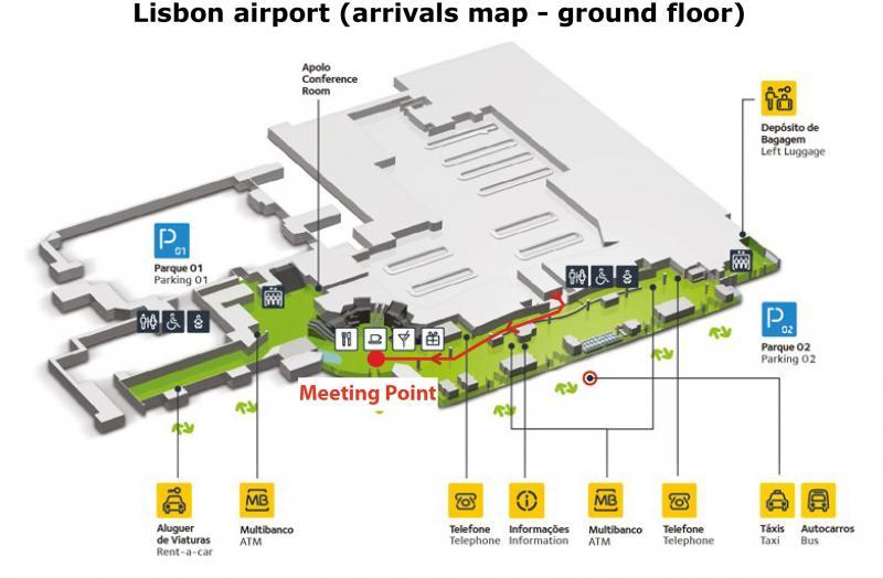 Lisbon Airport Map My Blog