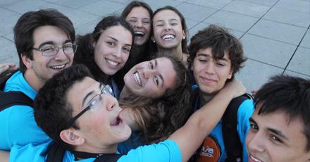 Para além dos ensinamentos adquiridos, o Verão na ULisboa permitiu a interação de alunos de diferentes escolas