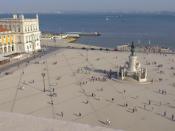 Terreiro do Paço em Lisboa