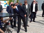O presidente da Câmara Municipal de Lisboa, Fernando Medina, ficou a conhecer os carros solares de Ciências ULisboa