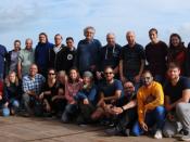 Participantes da missão oceanográfica a bordo do RV METEOR
