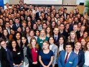 A equipa de cerca de 170 EU Careers Ambassador de 2019/2020 de vários países da UE