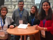"Comitiva da Faculdade no ""Matchmaking"" da EIT Health"