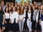 Grupo de campus ambassadors da Jerónimo Martins, de diferentes faculdades de todo o país