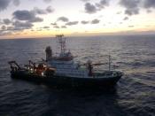 Navio oceanográfico alemão Meteor