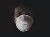 Máscara respiratória