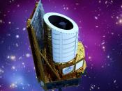Conceção artística do telescópio Euclid