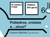 """60 Minutos de Ciência """"Poliedros, cristais e... vírus?"""""""