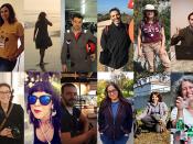 Imagens de perfil de 19 cientistas