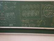 Rui Pita Perdigão numa sala da aula