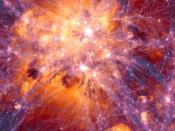 Simulação de larga escala do Universo