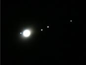 Satélites de Júpiter: Um projeto de astronomia experimental histórica I