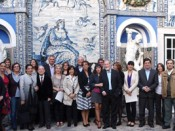 "Premiados dos ""SOS Azulejo 2012"", no Palácio Fronteira"