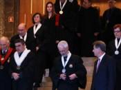 Cortejo académico na Aula Magna