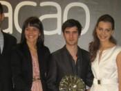 Rui Santos, Andreia Dias, Ricardo Santos, Dora Inácio e Hugo Ferreira