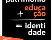 património + educação = identidade
