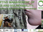"Intensive course ""Adaptive Management of Risks and Vulnerability: Introduction to the MARISCO methodology"""