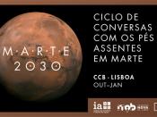 Marte 2030 - Ciclo de conversas com os pés assentes em Marte