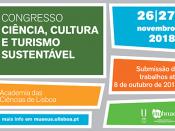 """Congresso """"Ciência, Cultura e Turismo Sustentável"""""""