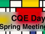 CQE Days - Spring Meeting 2019