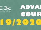 Imagem ilustrativa dos cursos avançados cE3c 2019/2020