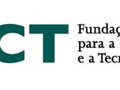 Logótipo da Fundação para a Ciência e a Tecnologia, sobre um fundo branco