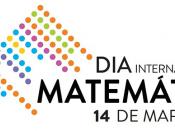 Logótipo do Dia Internacional da Matemática, sobre um fundo branco