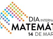 Logótipo do Dia Dia Internacional da Matemática, sobre um fundo branco
