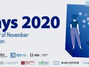 Imagem ilustrativa do evento, acompanhada do respetivo título, datas e logótipos das entidades participantes