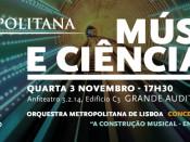 Imagem alusiva ao Concerto e Conferência
