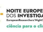 Logótipo da Noite Europeia dos Investigadores 2021, sobre um fundo branco