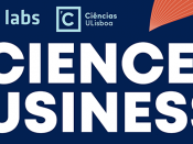 Título do evento, acompanhado dos logótipos do Tec Labs e de Ciências ULisboa