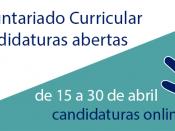 Logótipo e informações associadas às candidaturas