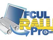 Logótipo da 6.ª edição do FCUL Rally Pro