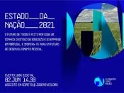 Imagem ilustrativa do evento e logótipo da FJN