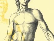 Desenho de uma figura masculina