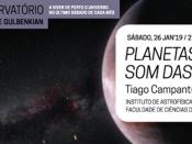 """Noites no Observatório """"Planetas ao som das estrelas"""""""