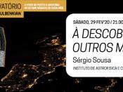 Imagem ilustrativa do evento, acompanhada de várias informações (título, orador, dia, hora e local)
