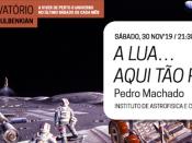 Imagem ilustrativa do evento, acompanhada de várias informações (título, orador, dia, hora, local e entidades participantes)