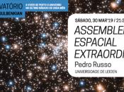 """Noites no Observatório """"Assembleia Espacial Extraordinária"""""""