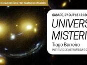 """Noites no Observatório """"Universo Misterioso"""""""
