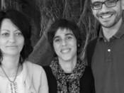 Palmira Carvalho, Raquel Barata e David Felismino
