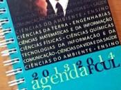 Capa da Agenda FCUL 2012/2013