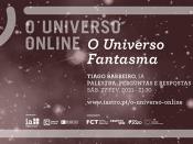 Imagem ilustrativa do evento, acompanhada de várias informações (título, data e hora do evento; orador; logótipos das entidades organizadoras)